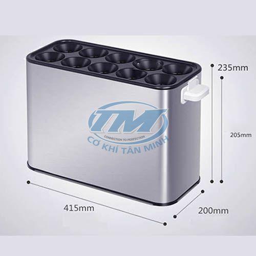 Máy làm bánh trứng trộn giá (TMTP-I54)