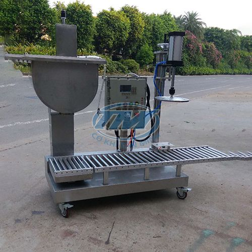 Máy chiết rót sơn nước bán tự động (TMDC-D52)