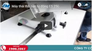 Video: Máy thái thịt bán tự động ES 250