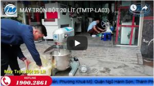 Video: Máy trộn bột 20 lít (TMTP-LA03)