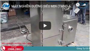 Video: Máy nghiền đường siêu mịn