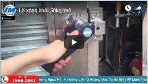 Video: Lò xông khói 50kg/mẻ