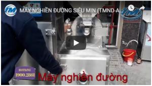 Video: Máy nghiền đường siêu mịn (TMND-A10)