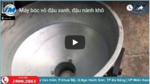 Video: Máy bóc vỏ đậu xanh, đậu nành khô