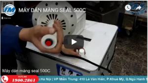 Video: Máy dán màng seal 500C