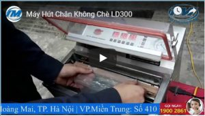 Video: Máy hút chân không chè LD300