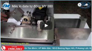 Video: Máy in date tự động MY-380