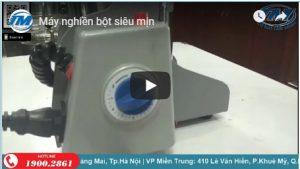 Video: Máy nghiền bột siêu mịn