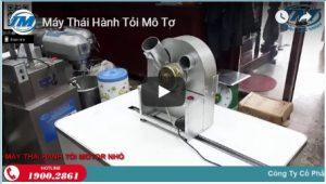 Video: Máy thái hành tỏi mô tơ