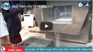 Video: Máy tiêm gia vị 48 kim