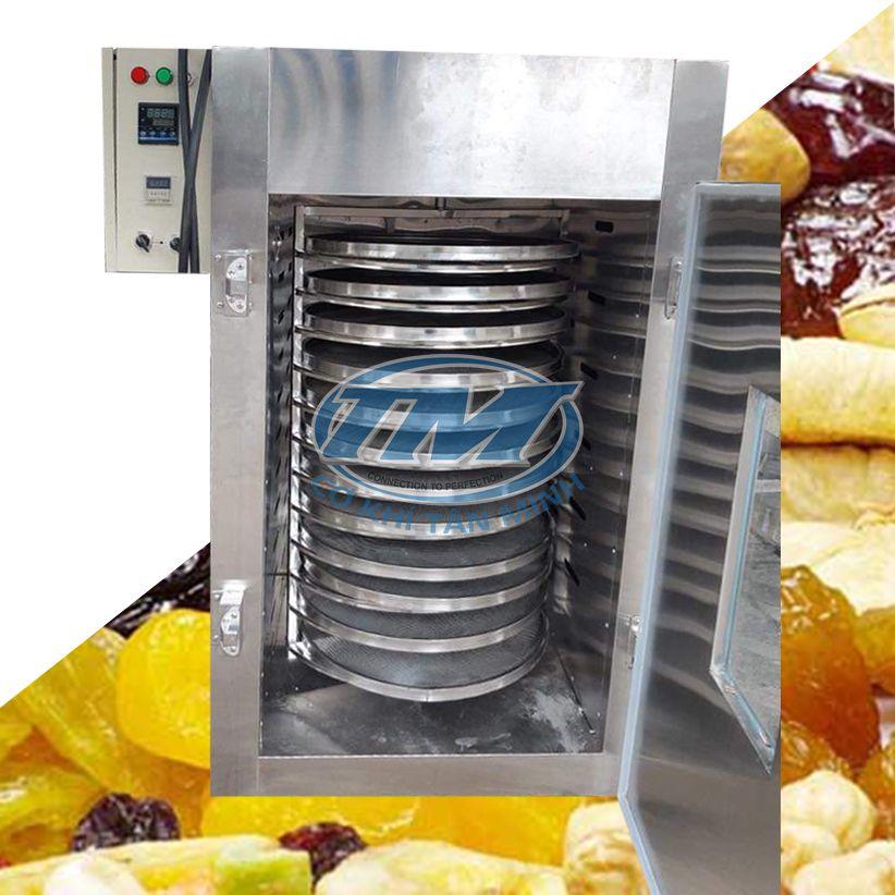 Tủ sấy 12 khay dạng xoay 90cm VN (Inox 304) (TMCN-B50)