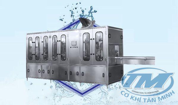 Dây chuyền chiết rót nước khoáng tự động 5L-10L (TMKM-K17)