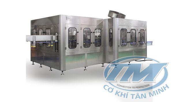 Dây chuyền chiết rót nước khoáng tự động CGF 40-40-10 (TMKM-K06)