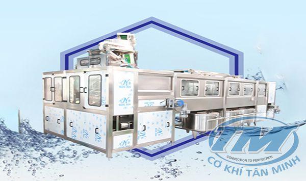 Dây chuyền chiết rót bình nước tự động QGF-900 (TMKM-K15)