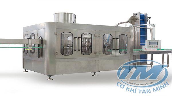 Dây chuyền chiết rót nước cam tự động 3 in 1 (TMKM-K10)