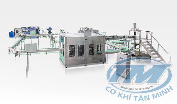 Dây chuyền chiết rót nước khoáng tự động CGF 24-24-8 (TMKM-K04)