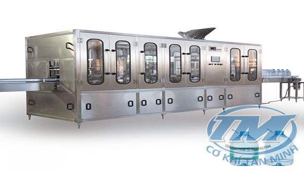 Dây chuyền chiết rót nước khoáng tự động 3L-10L (TMKM-K16)