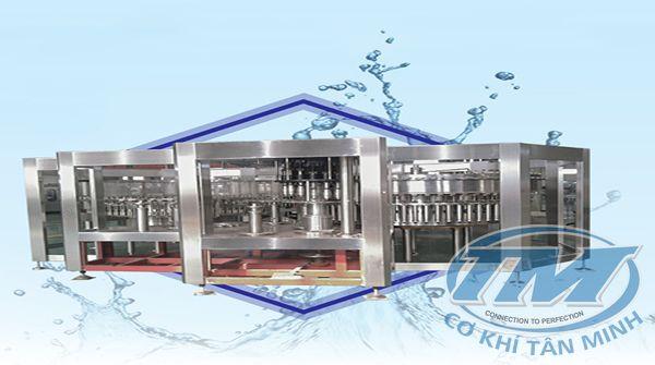 Dây chuyền chiết rót nước khoáng tự động CGF 70-70-16 (TMKM-K08)