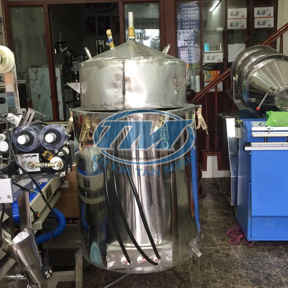 Nồi nấu rượu đa năng ruột đồng 100 Kg/mẻ (TMCN-AC08)