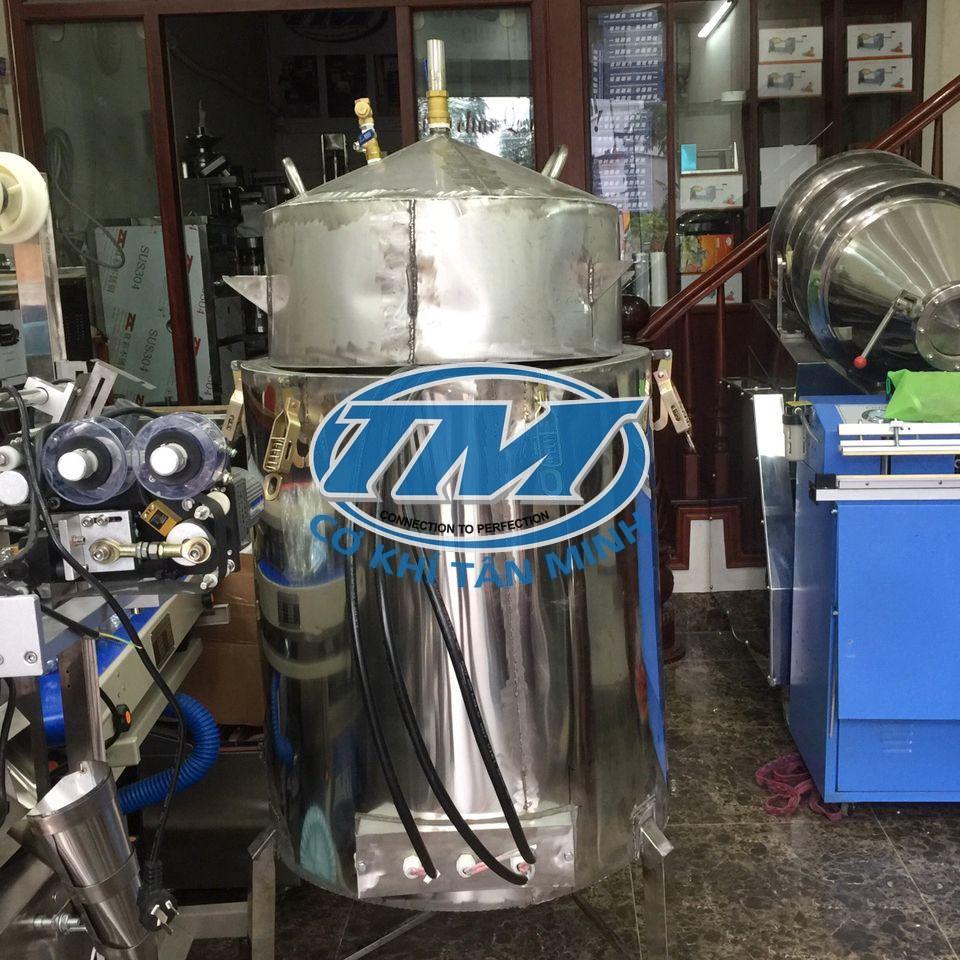 Nồi nấu rượu đa năng ruột đồng 50 Kg/mẻ (TMCN-AC02)